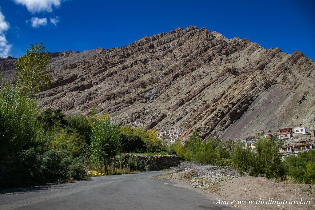Hemis Monastery in the valley of Ladakh