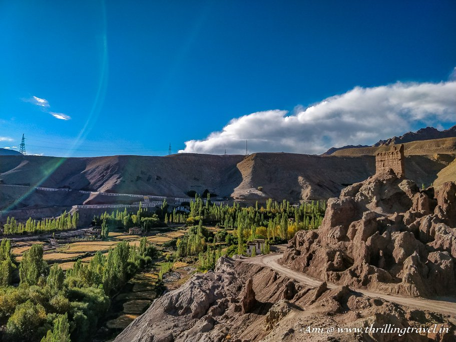 Landscape around Basgo Monastery, Ladakh