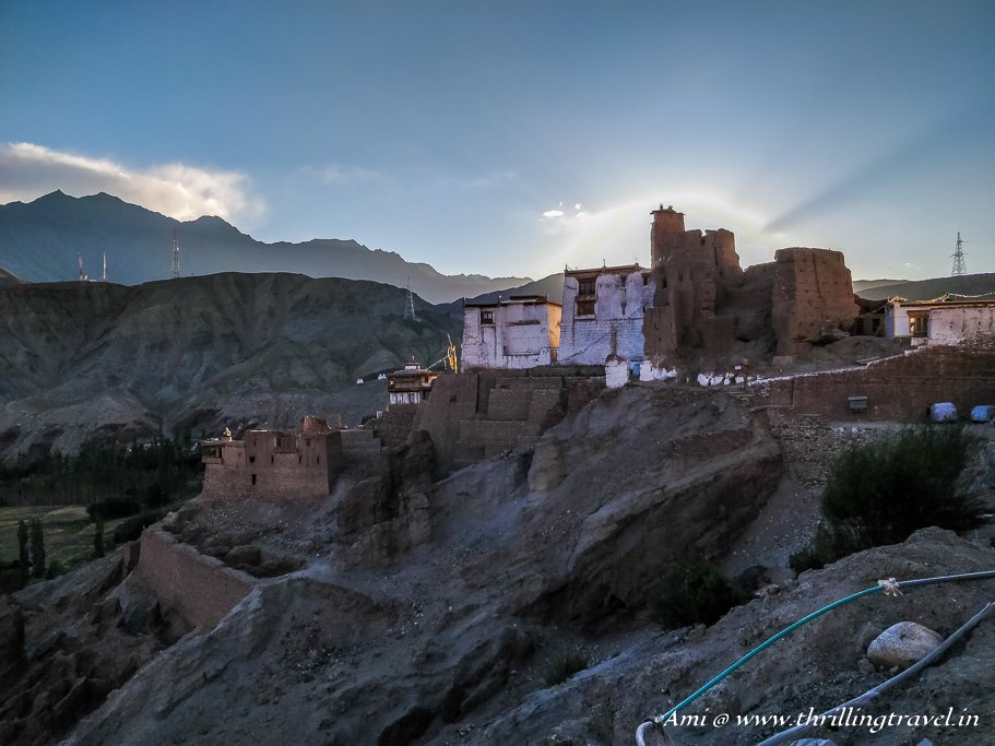 High up on the mountains - Basgo Monastery, Ladakh