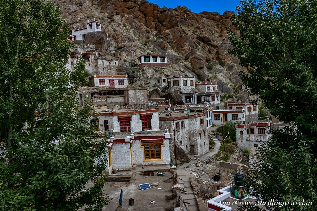 The Monks Homes at Hemis Monastery
