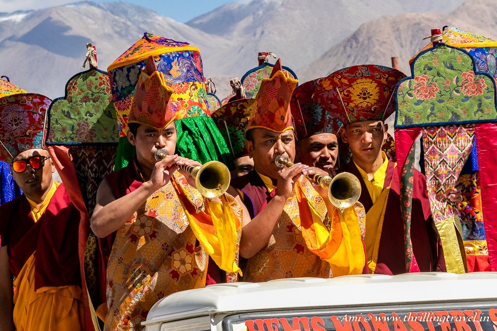 The Musicians in the Naropa Procession