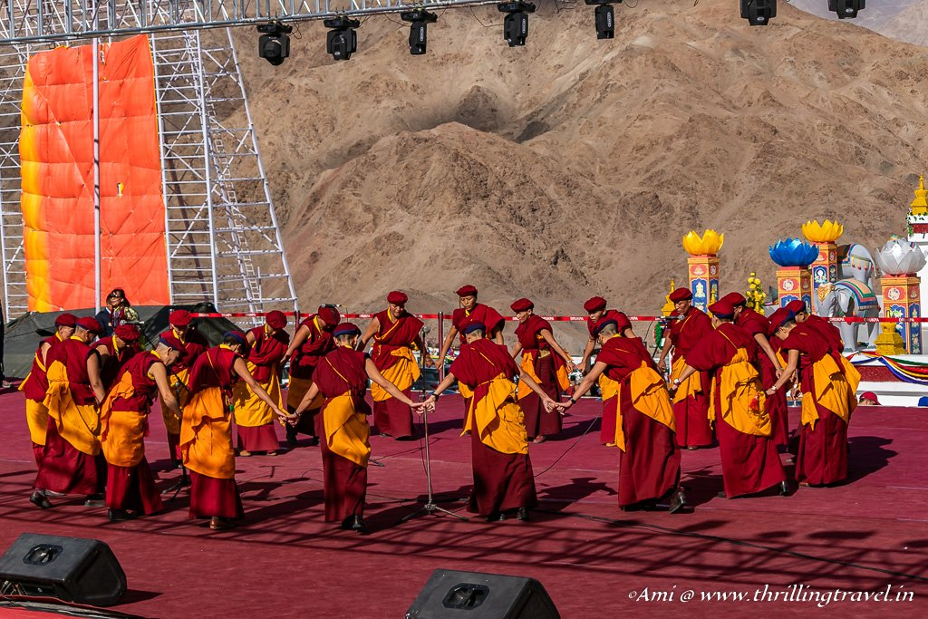The dance of the Kung Fu Nuns at Naropa Festival