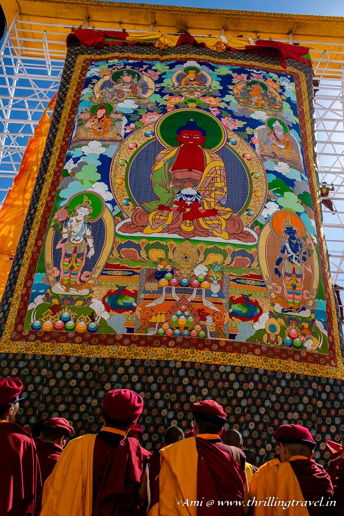 Unfurling of the Thangka-Naropa Festival, Ladakh