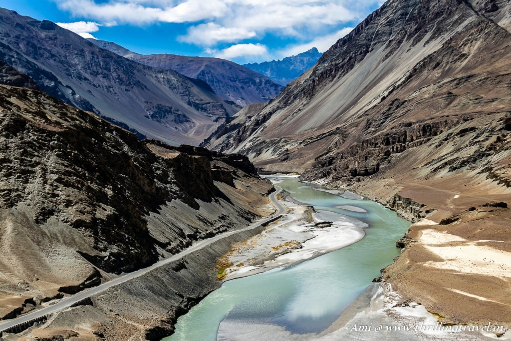 Zanskar River at Nimo Village, Ladakh