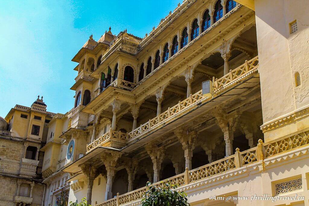 City Palace Udaipur, Rajasthan