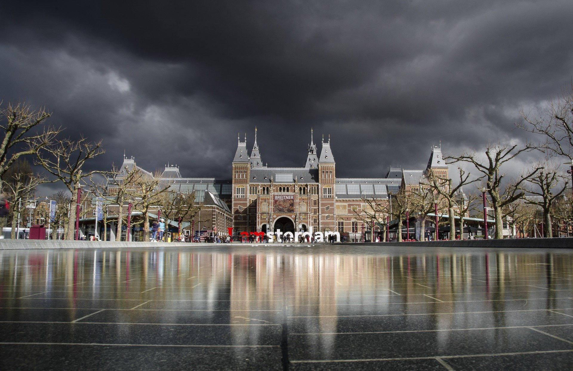 Main Amsterdam Attraction - Rijksmuseum