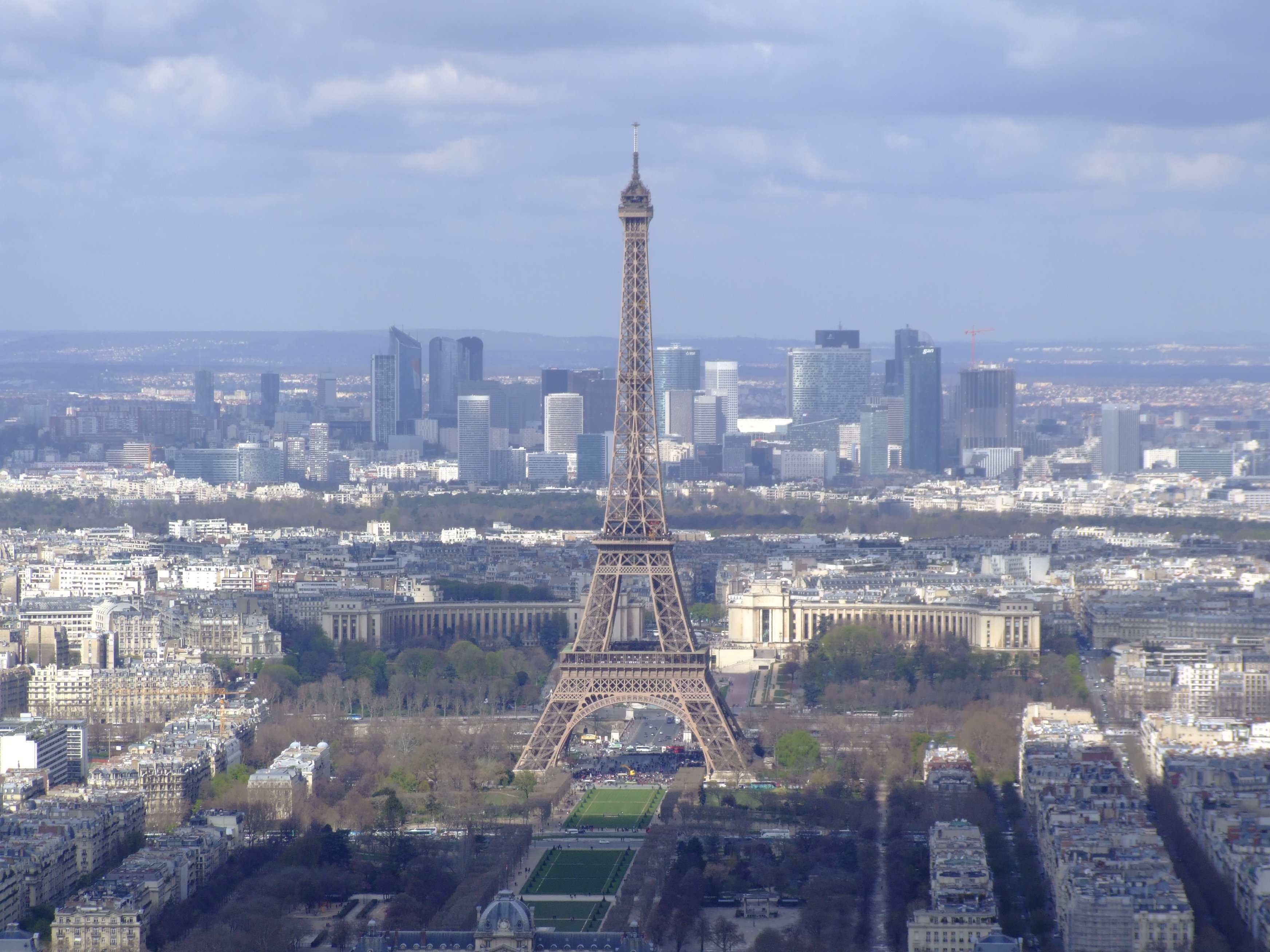 Eiffel Tower as seen from Tour Montparnase