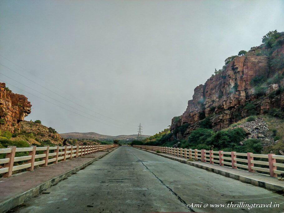 A few kms before Gandikota