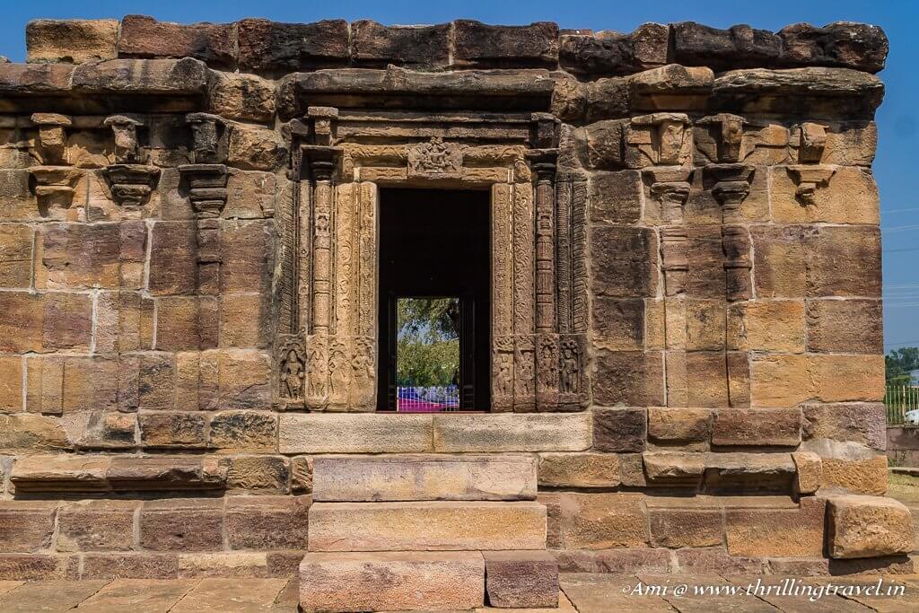 Ambigergudi Temple doorway - experimental carvings