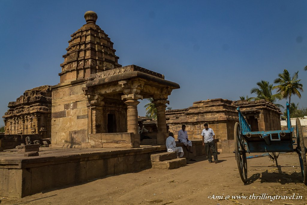 The tiny village of Aihole