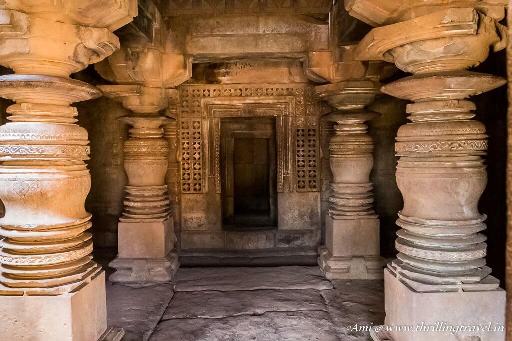 Chhapar Gudi Temple shrine_Aihole