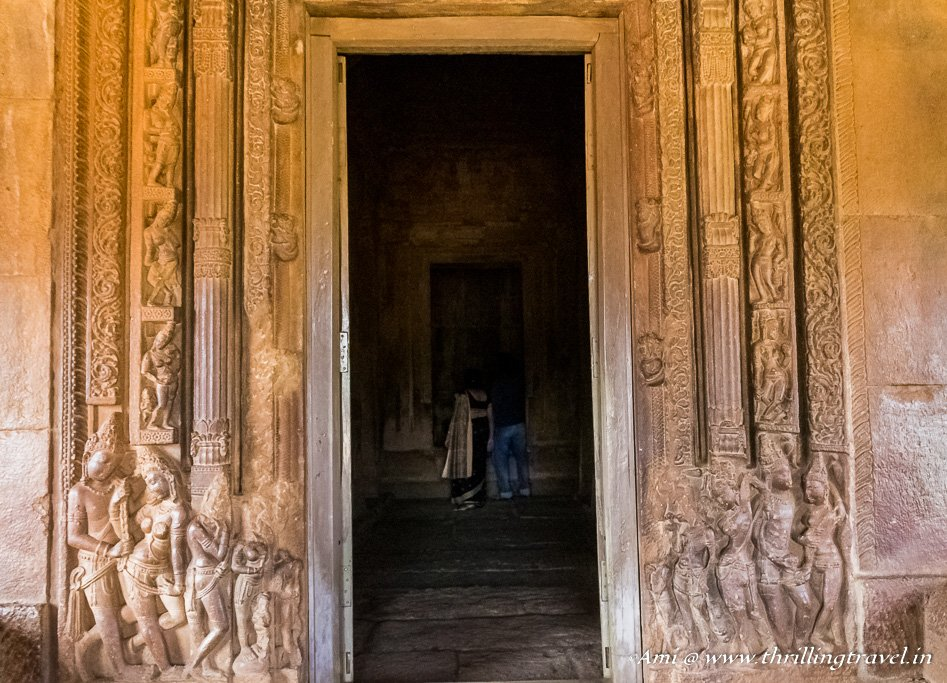 Doorway to inner shrine of Durga Temple, Aihole