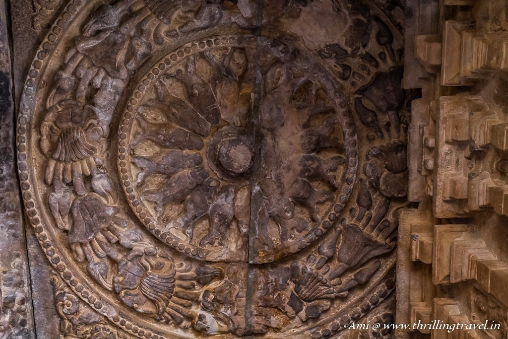 Ceiling Art in Durga Temple of Aihole