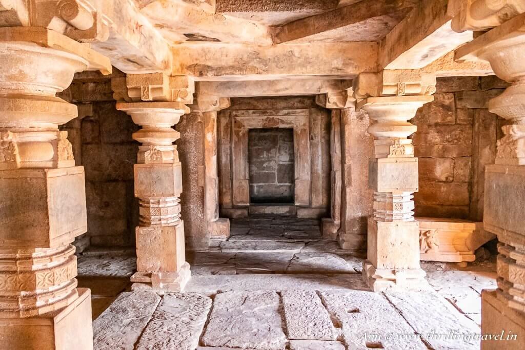 Garbha Griha or the Sanctum Sanctorum of Ranganatha Swamy temple