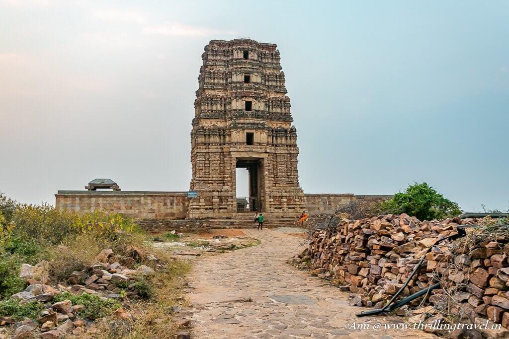 The Gopuram of Madhavaraya Temple