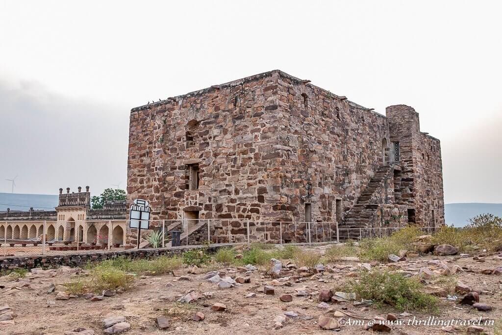 The Granary of Gandikota Fort