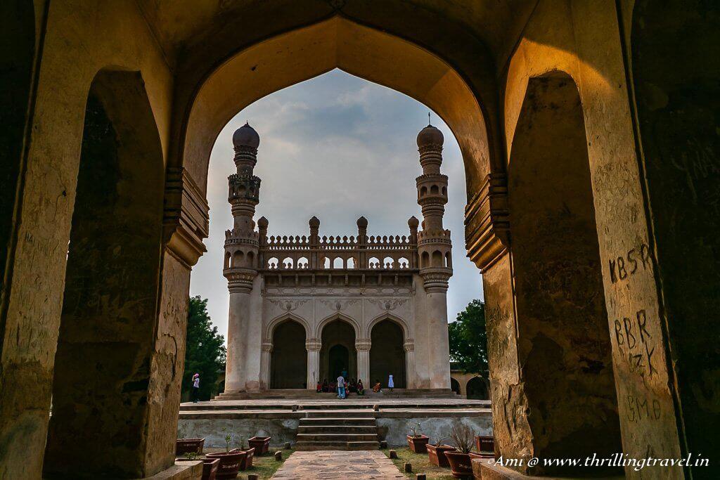 Jamia Masjid from the entrance