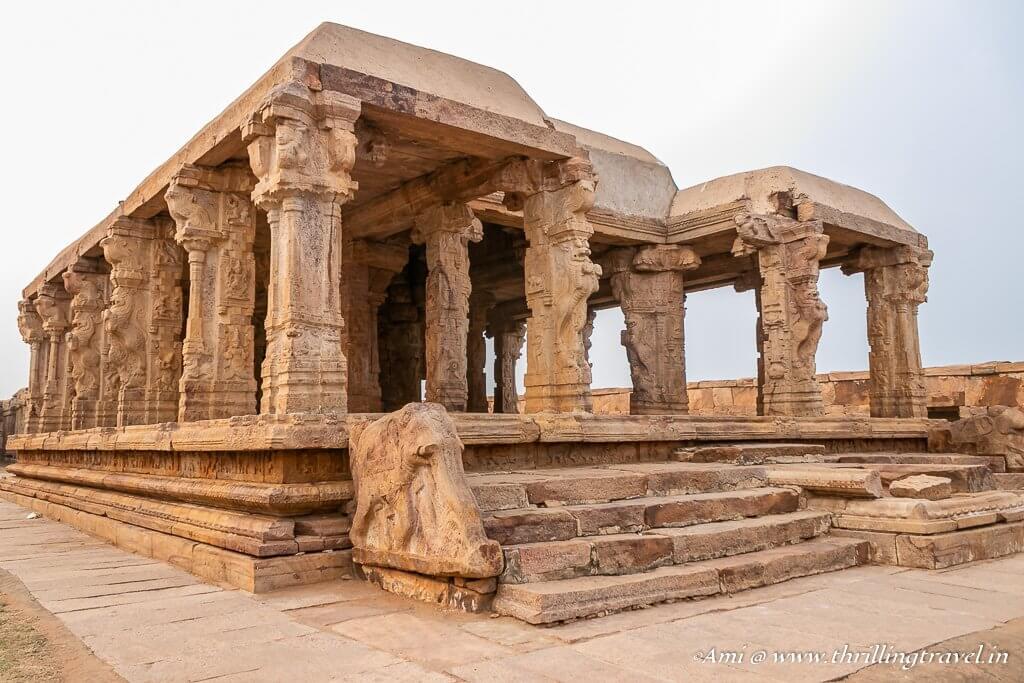 Main shrine of Ranganatha Swamy temple