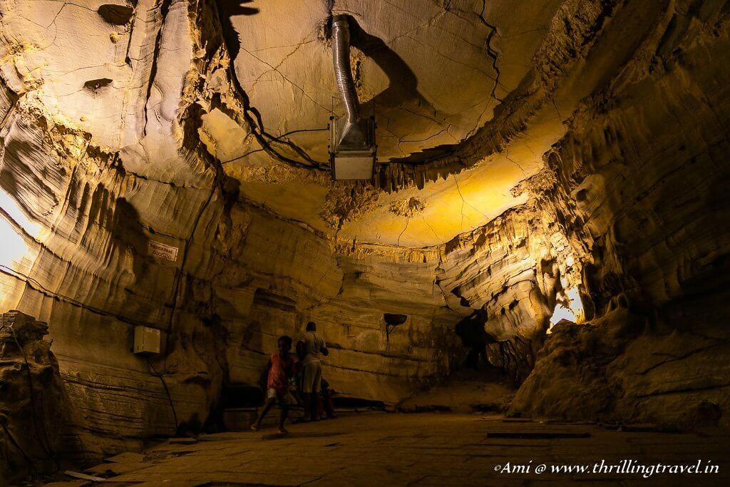 Mandapam of Belum Caves