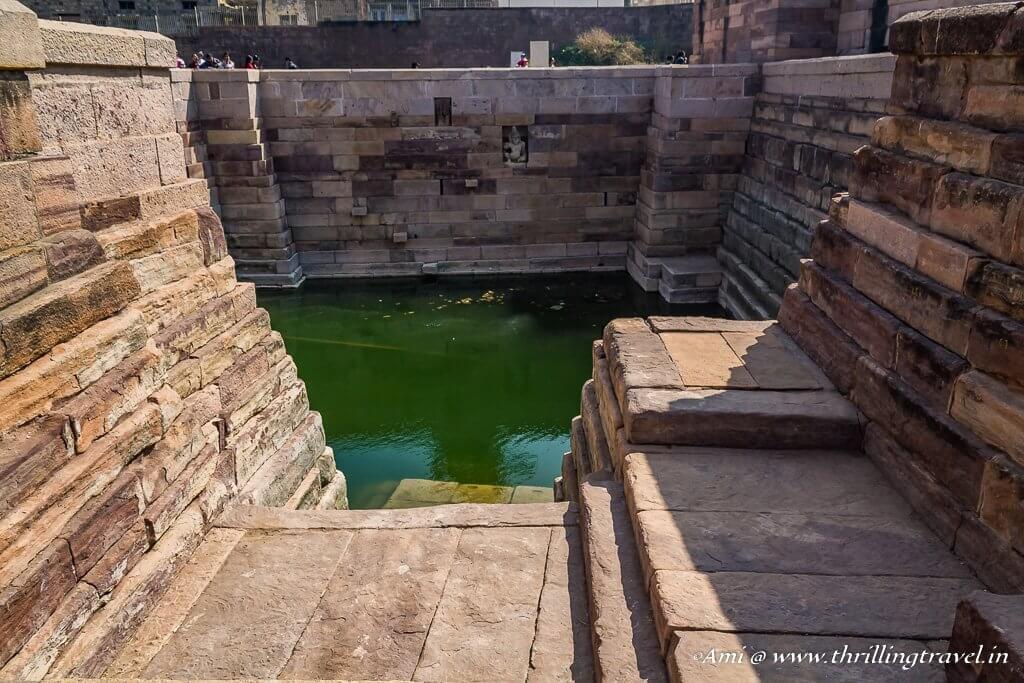 Pushkarni in Durga Temple Complex