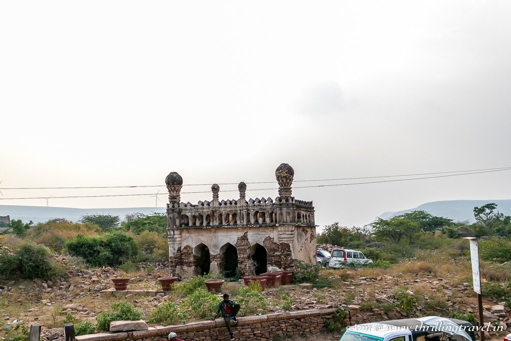 Unknown Tomb of Gandikota Fort