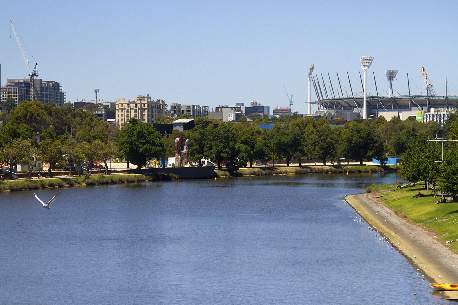 Yarra River - One of the things to do in Melbourne