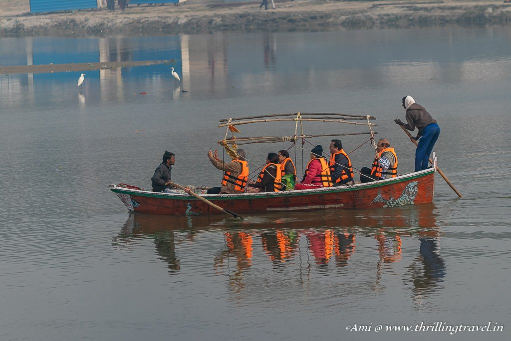 Boats to take you to Triveni Sangam at Kumbh Mela