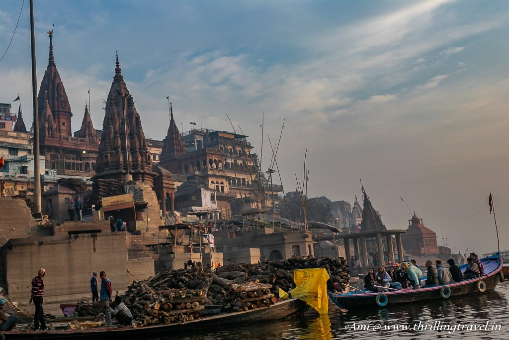 Cremation in Varanasi means release of the soul from the cycle of life and death
