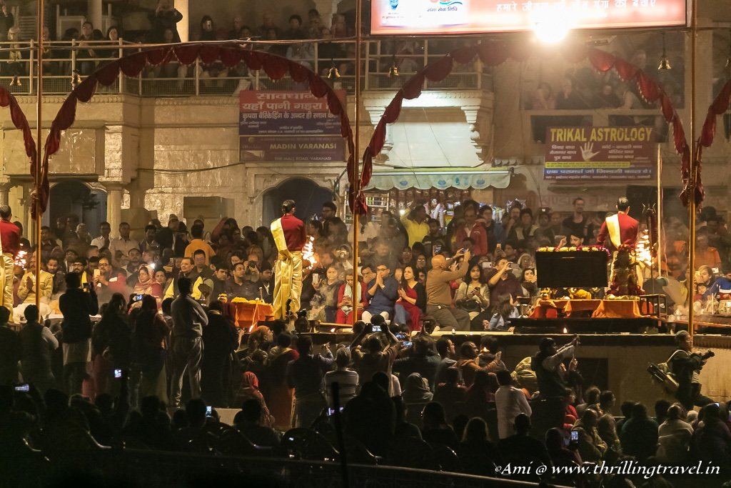 Ganga Aarti at Dasaswamedh Ghat