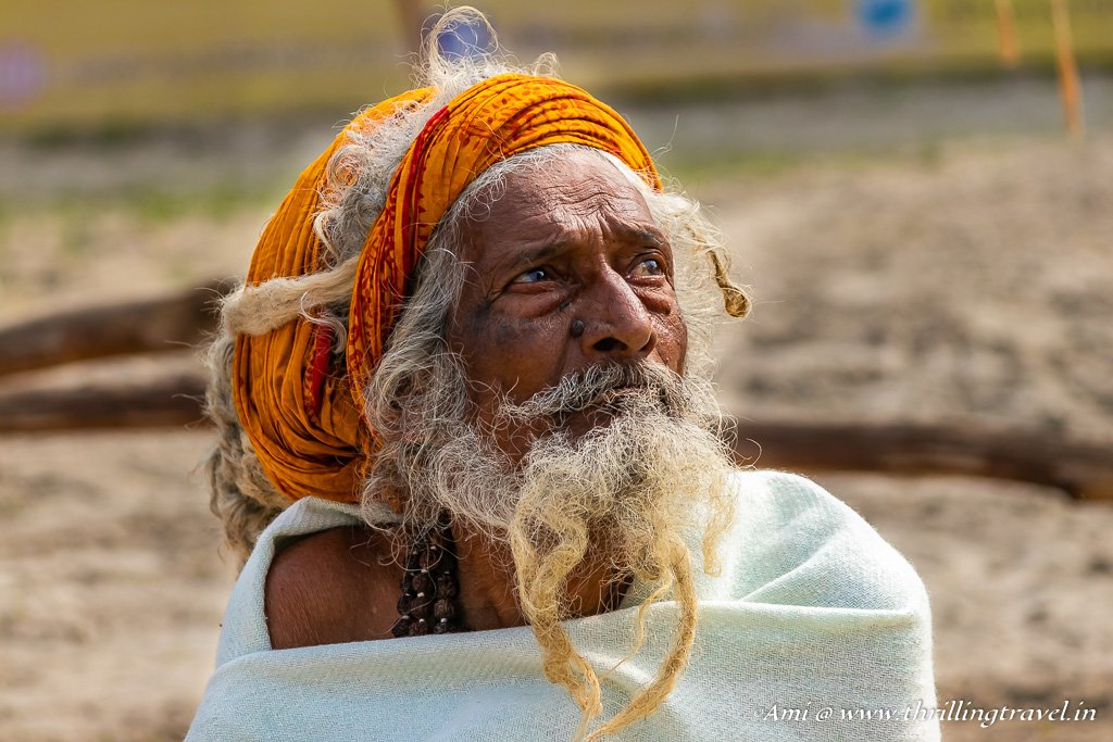 People of all ages come to Kumbh Mela