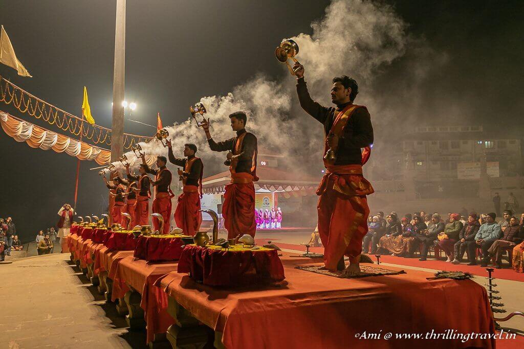 Ganga Aarti at Assi Ghat