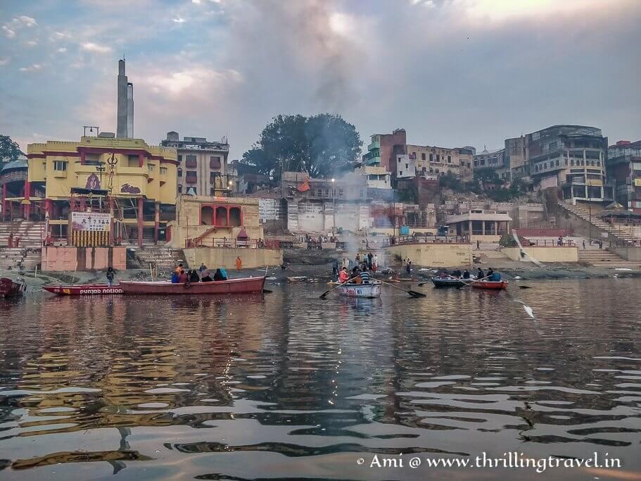 Harishchandra Ghat in Varanasi