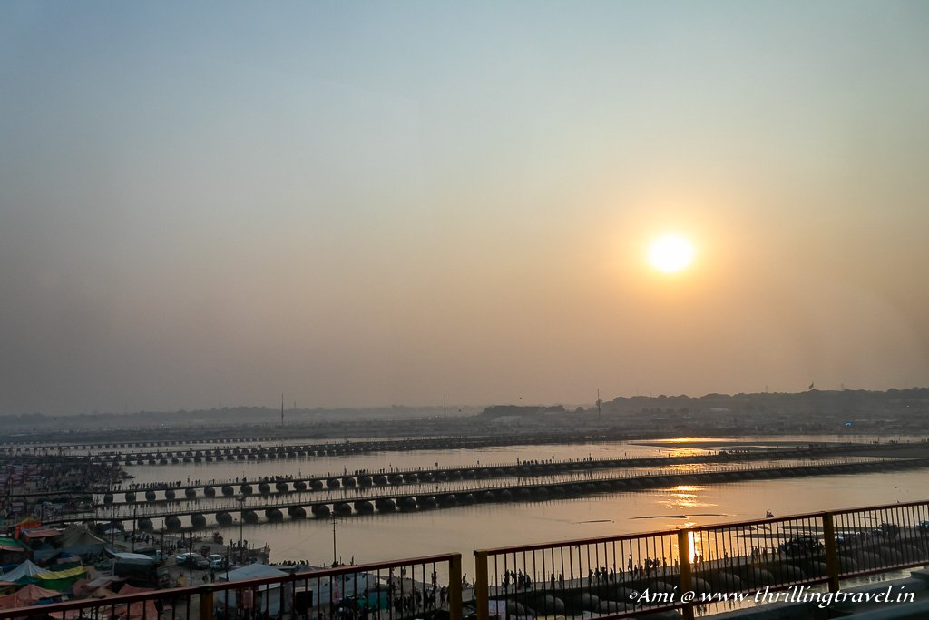 Pontoon Bridges of the Kumbh Mela