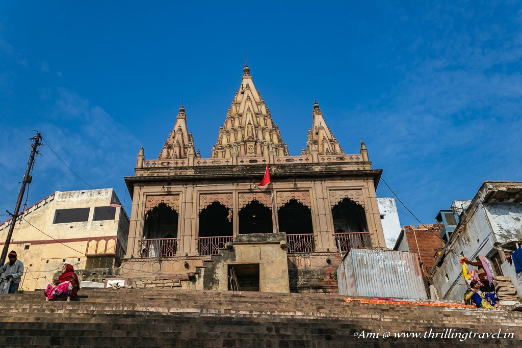 Temple at Varanasi Ghats