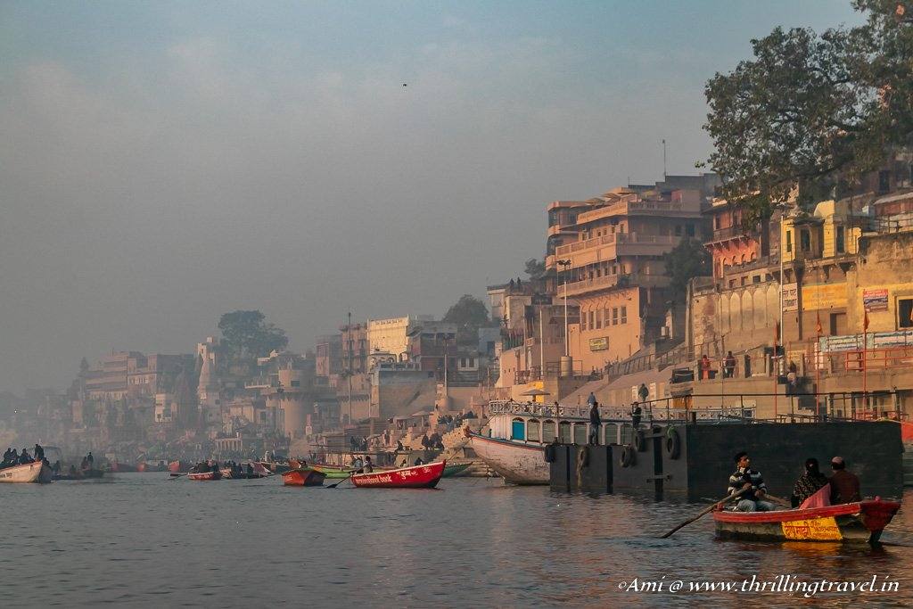 Varanasi by the river Ganga