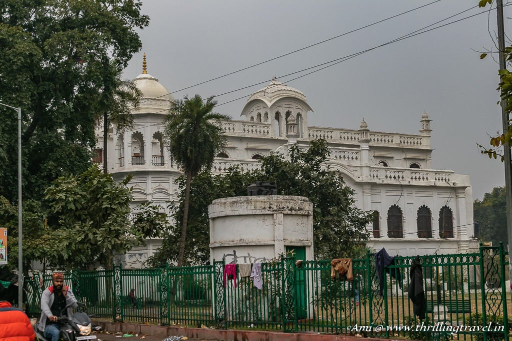 The Amin-ud-daulah library in place of the old Lanka
