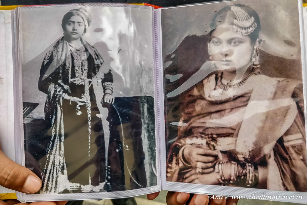 Pictures of the Begums of Nawab Wajid Ali Shah