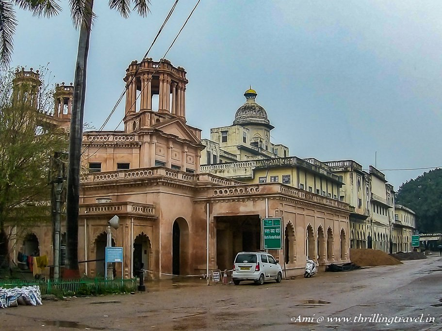 Chattar Manzil - one of the older palaces of the Nawab