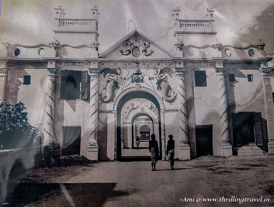 Picture of the gates of Kaiserbagh