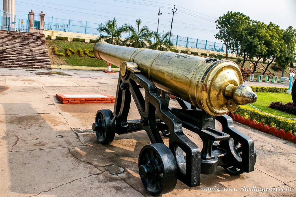 Lord of Cornwallis Cannon at La Martiniere