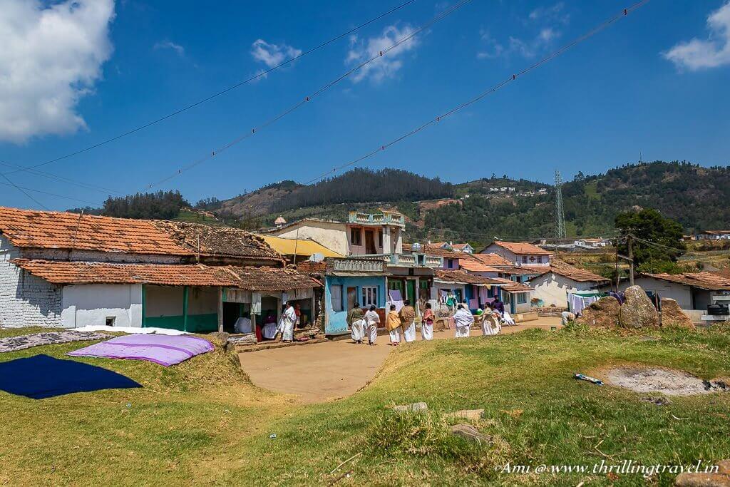 Kota Tribal Village in Ooty