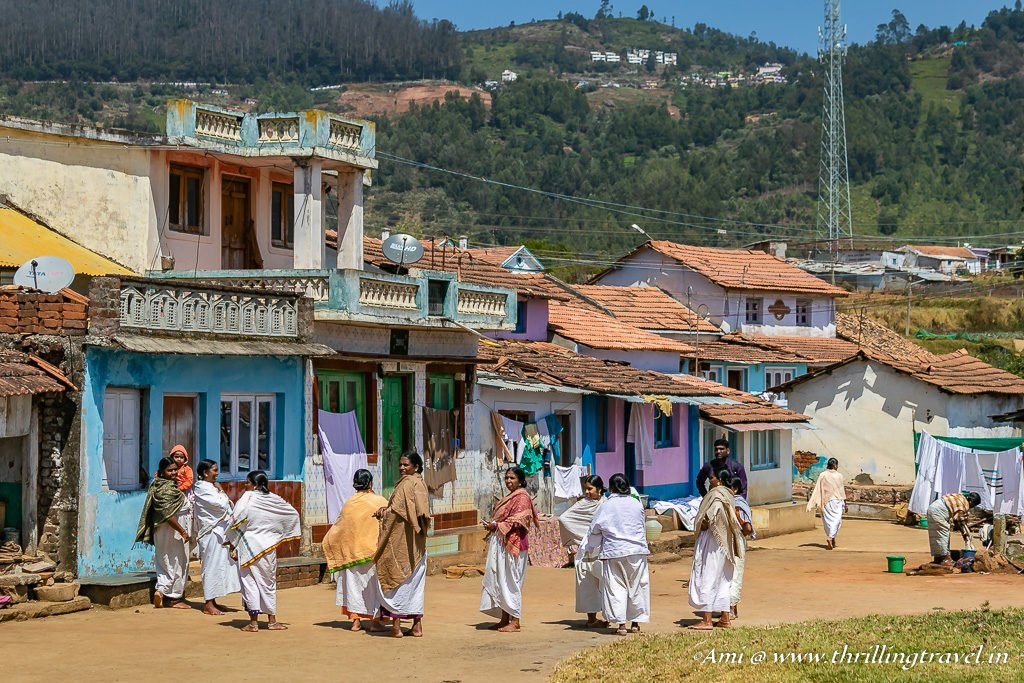 The Kota Women meeting in their village square