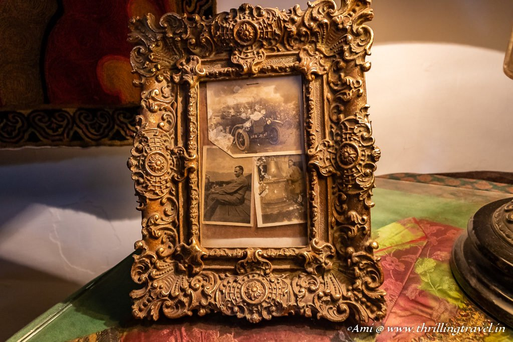 Photo Frame with pictures of the Raja