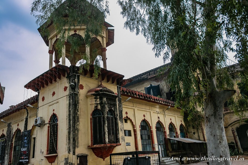 The erstwhile Pari Khana that has been converted to Bhatkhande Institute