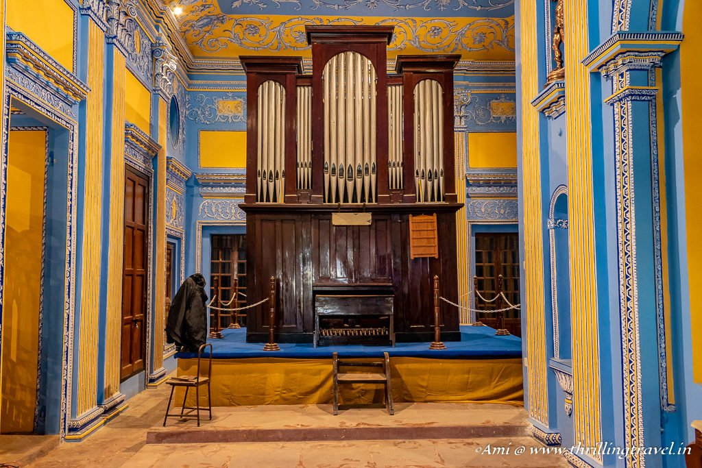 Pipe Organ in the Chapel of La Martiniere