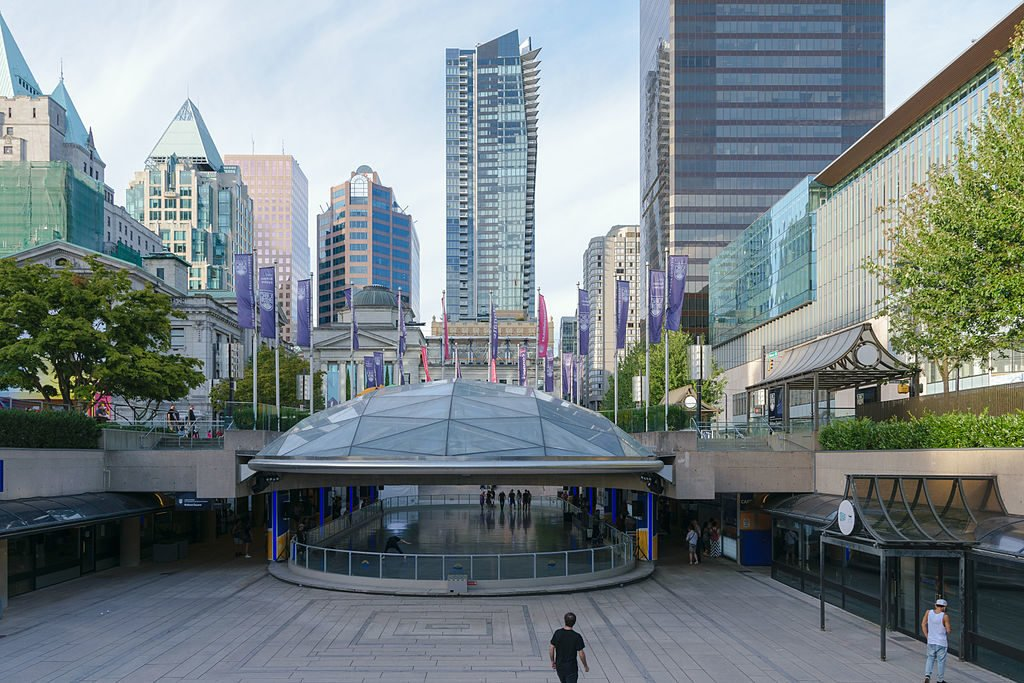 Robson Square in Vancouver