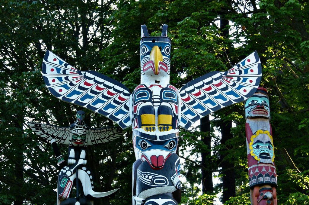 Totem at Stanley Park
