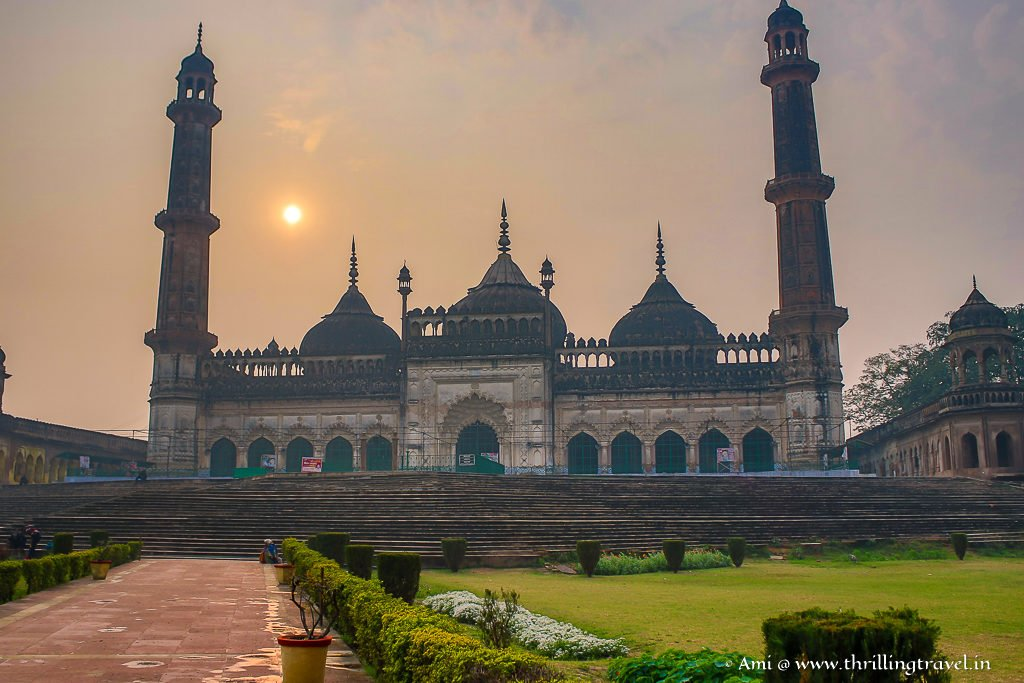 Asafi Mosque at Bara Imambara