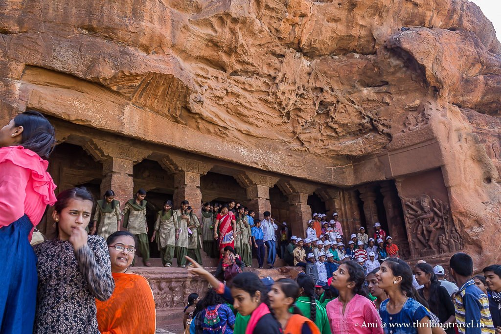Cave One of Badami Temple Caves