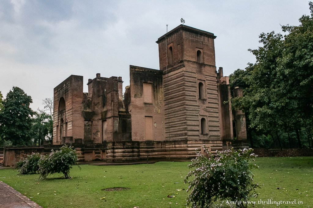 Dilkusha Palace in Lucknow